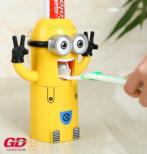 nặn kem đánh răng minion 1