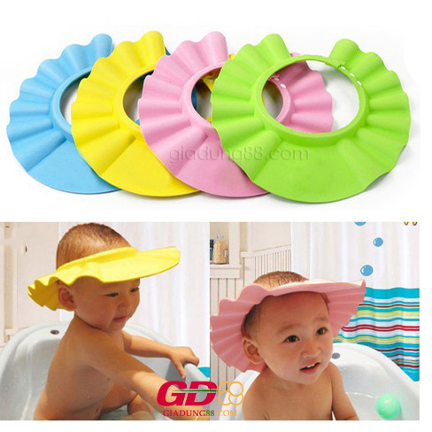 mũ tắm chắn nước cho bé