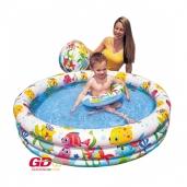 Bể bơi cho bé Intex tặng kèm bóng và phao bơi