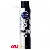 Xịt khử mùi Nivea Invisible for Black & White