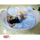 Nệm mùng chống muỗi cho bé